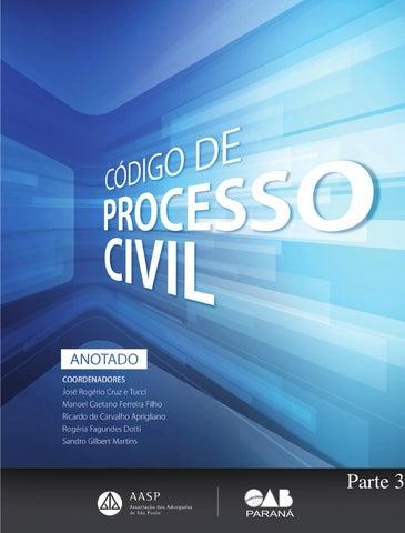 3dced8404 Código de Processo Civil - 2015 - ANOTADO - Parte 3 by Sidnei de ...