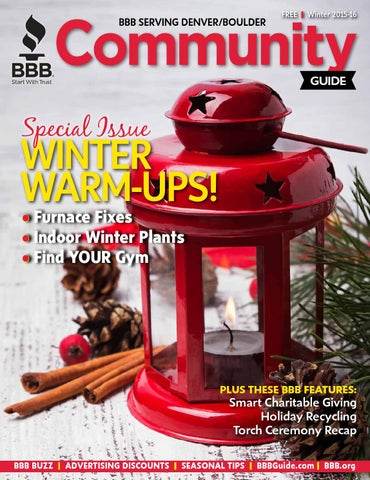Bbb community guide winter by bbbdenver issuu bbb serving denverboulder solutioingenieria Images