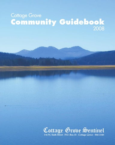 Pleasant 2008 Cottage Grove Community Guidebook By Cottage Grove Interior Design Ideas Gentotryabchikinfo