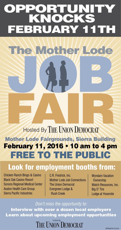 job fair flyer by union democrat issuu