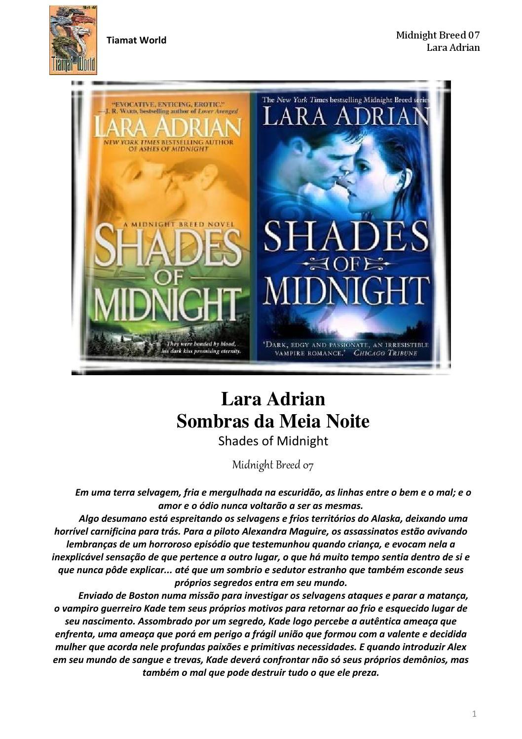 Raça da Meia-Noite 07 - Sombras da Meia Noite by Camila Fernandes - issuu 841a603f71045