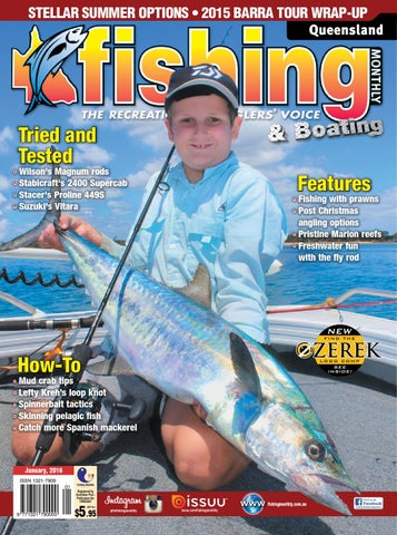Queensland fishing monthly january 2016 by fishing monthly issuu page 1 fandeluxe Choice Image