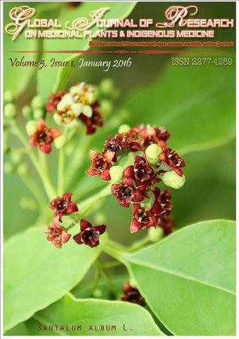 Gjrmi volume 5 issue 1 january 2016 by dr hari venkateshk page 1 ccuart Images