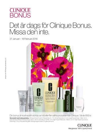 clinique bonus åhlens
