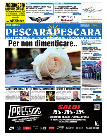 low priced d405d 1513e PescaraPescara 27 01 2016 by PescaraPescara - issuu