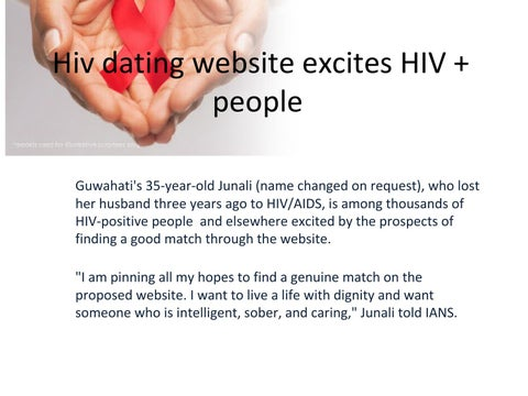 dating website for hiv positive