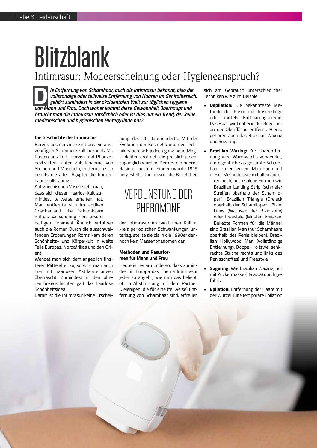 Intimrasur Mittelalter Intimrasur Fur Mann Und Frau 2019 02 18