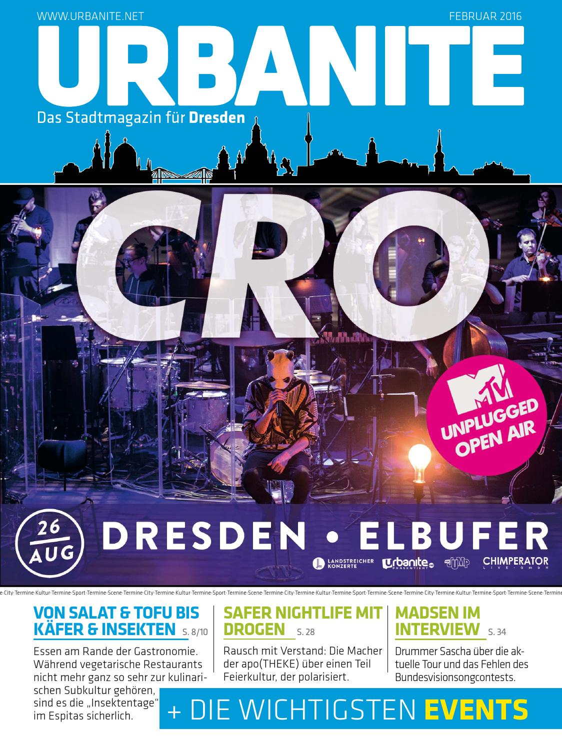 URBANITE - Stadtmagazin Dresden | Februar 2016 by urbanite - issuu