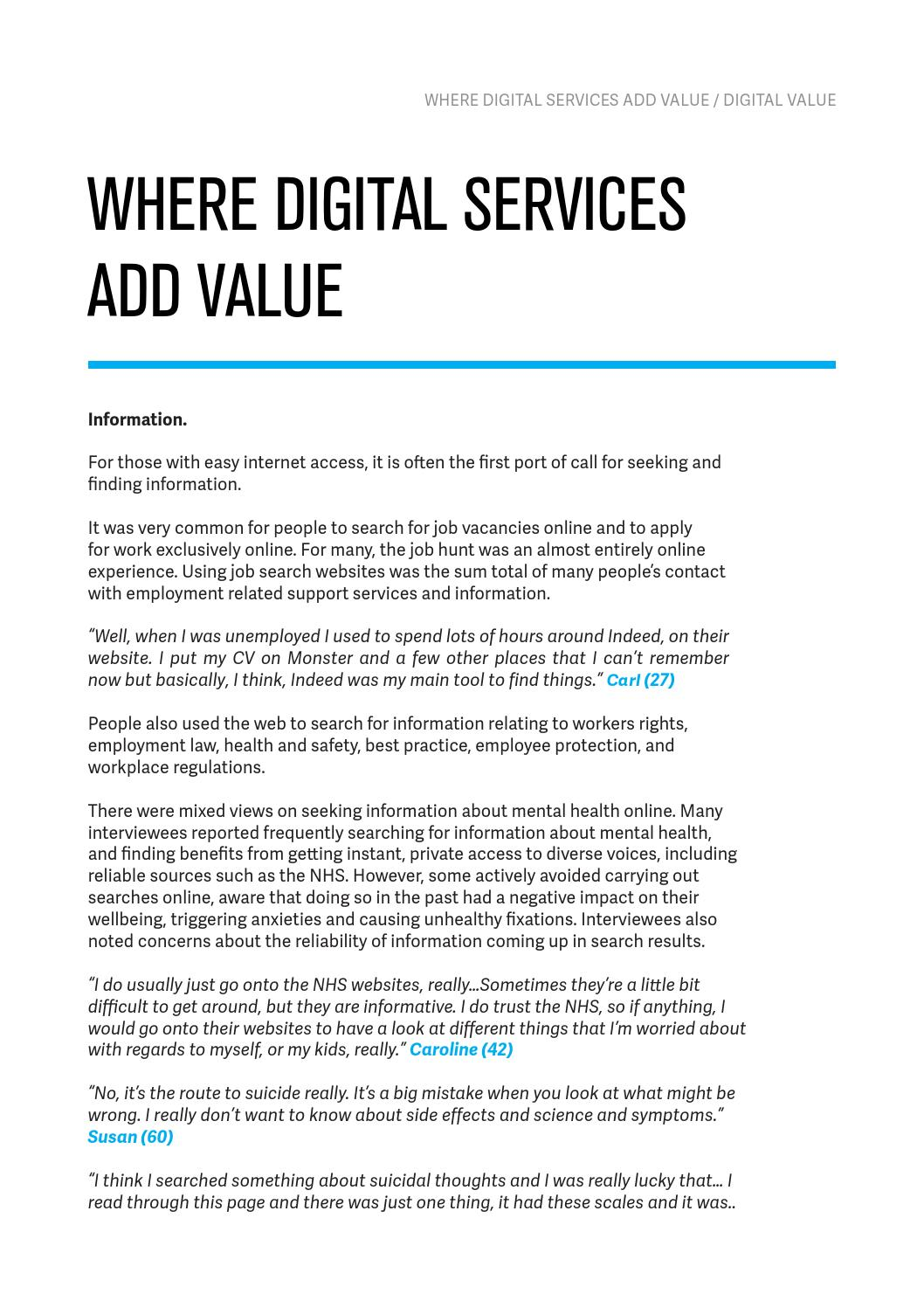 Creating Digital Tools For Mental Health And Employment Support The