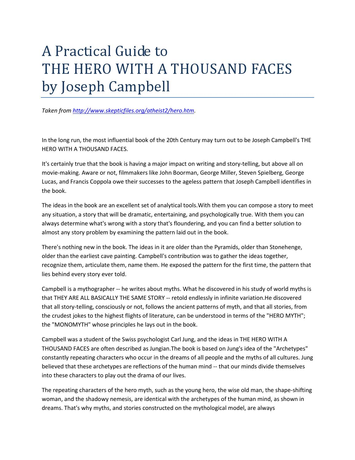 a practical guide to the hero with a thousand faces by kgnaho - issuu