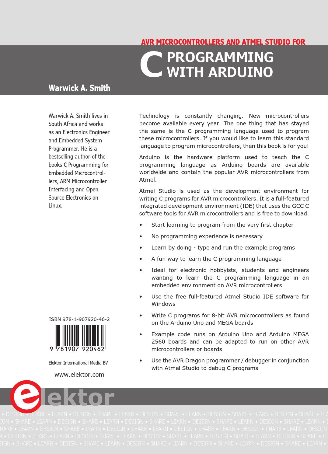 C Programming with Arduino by Elektor - issuu