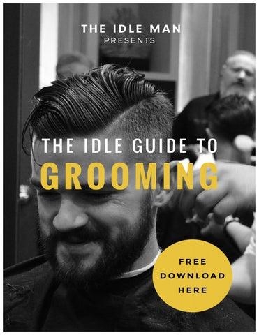 mens grooming guide