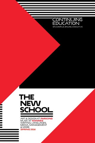 At The New School, you won t find run-of-the-mill classes. You ll discover  hundreds of stimulating creative outlets for every age and stage of life. 465141221a7