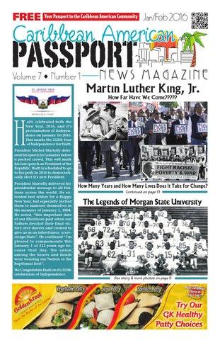 Caribbean american passport news magazine january 2016 by