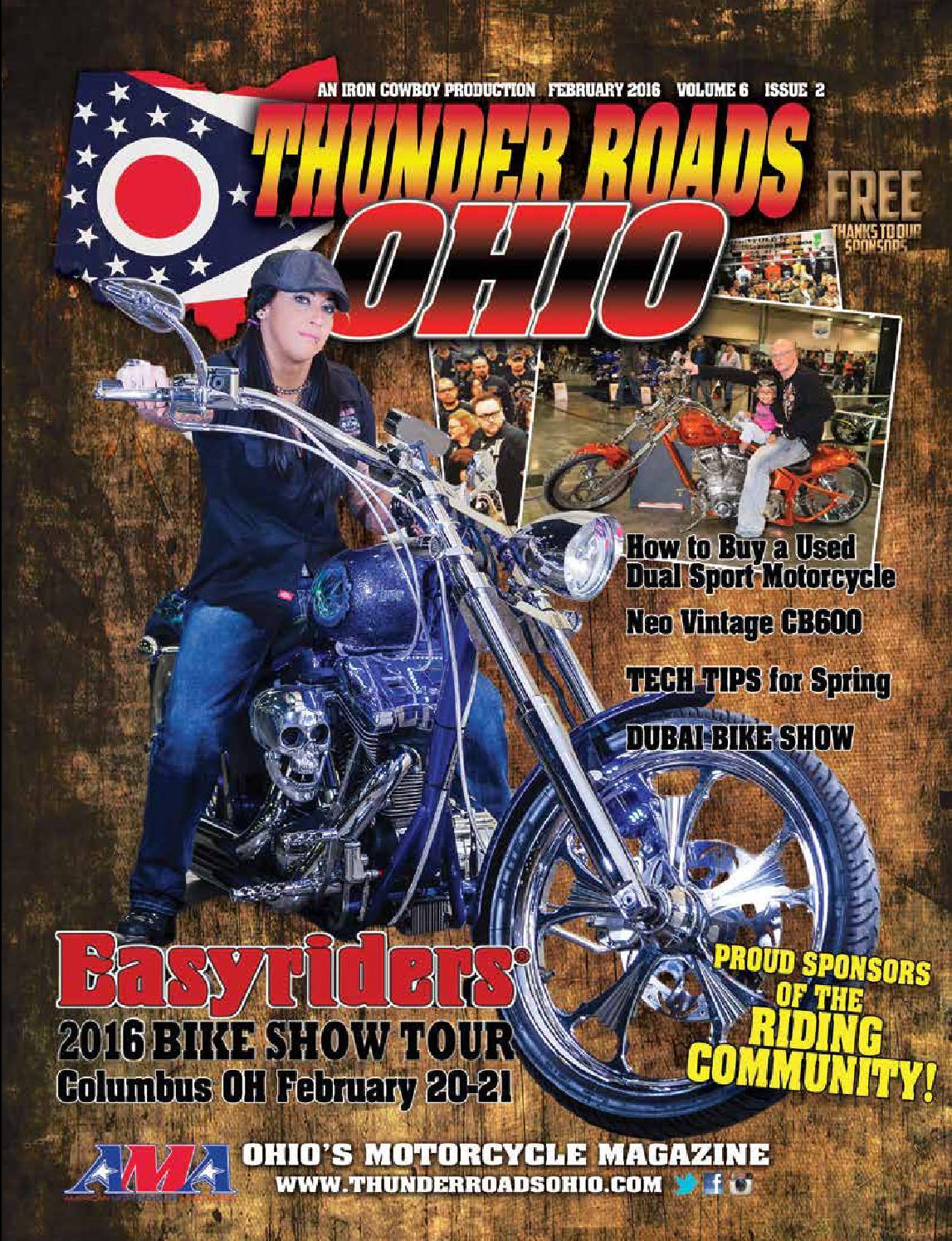 Thunder Roads Ohio February 2016 by Thunder Roads Ohio