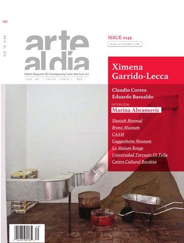 ARTEALDIA149 by Cynthia Martinez - issuu