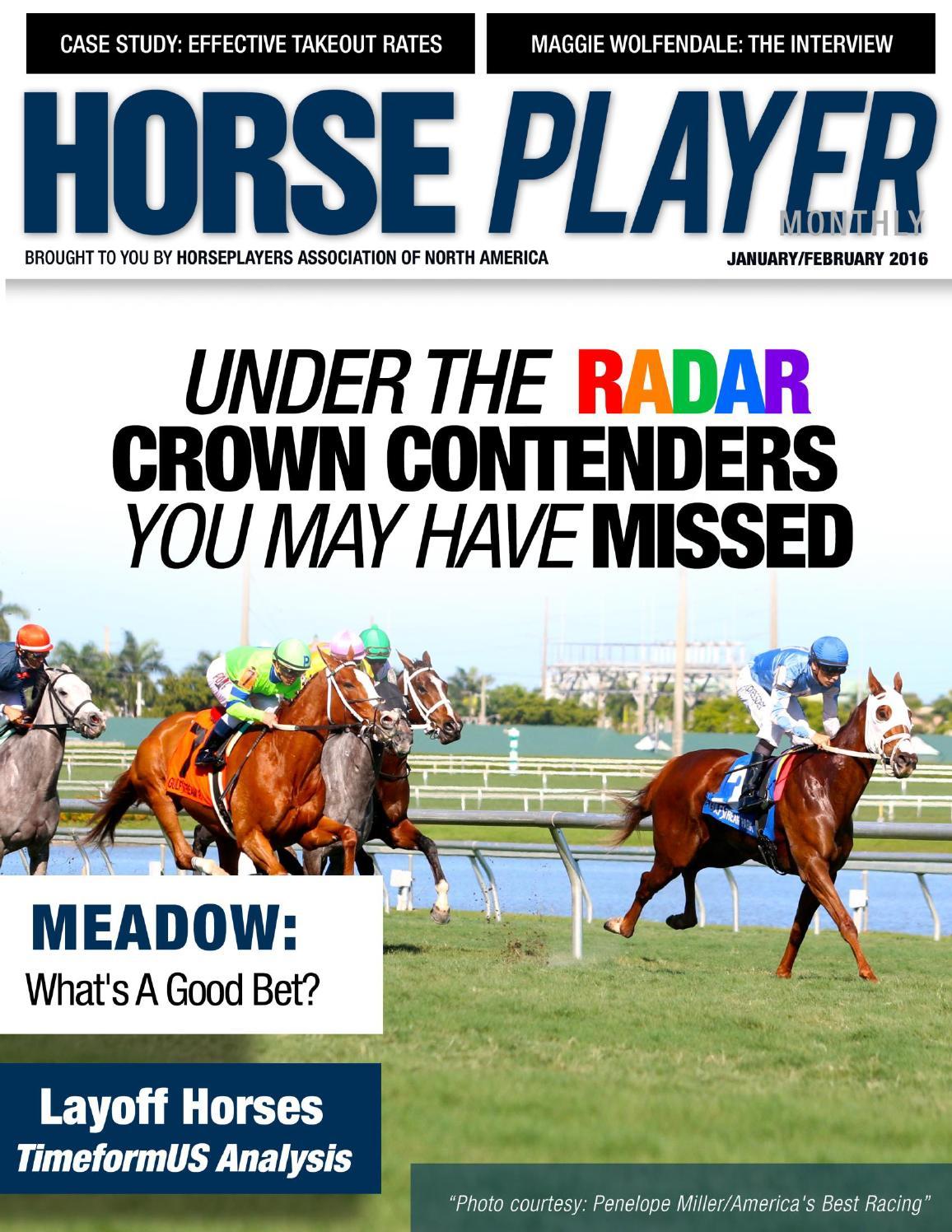 January/February 2016 Horseplayer Monthly by Charlie Davis - issuu