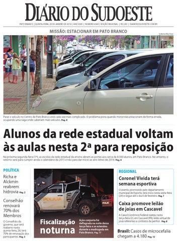 Diário do sudoeste 28 de janeiro de 2016 ed 6560 by Diário do ... fe96a2be9c0b7