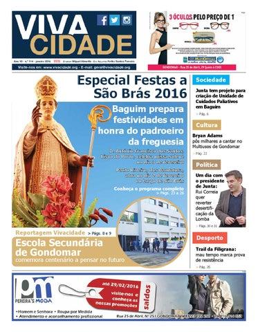 75d88ea4c Edição de janeiro de 2016 by Jornal Vivacidade - issuu