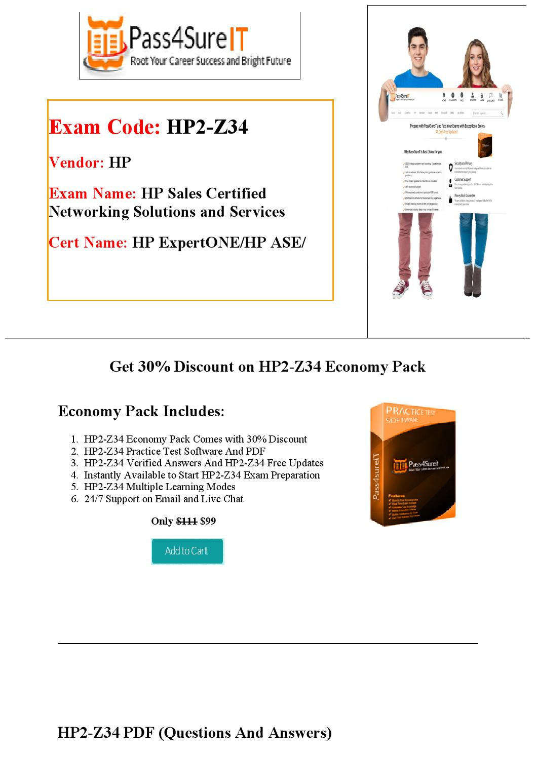 Pass4sure hp2 z34 exam questions by william issuu 1betcityfo Choice Image