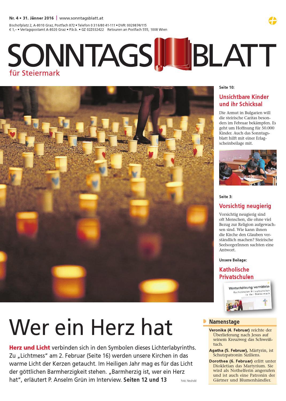 Sobl 20160131 04 sd 1 32 by Sonntagsblatt für Steiermark - issuu