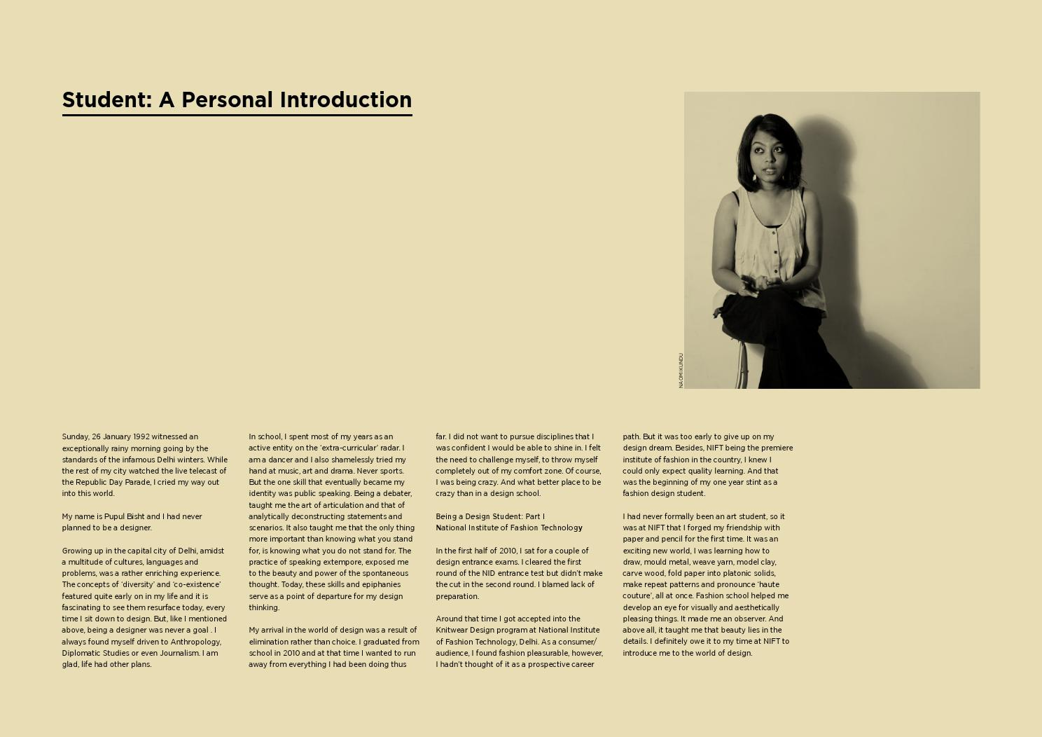 Redesigning The Caravan Magazine Vol 1 A Graduation Project Documentation By Pupul Bisht Issuu