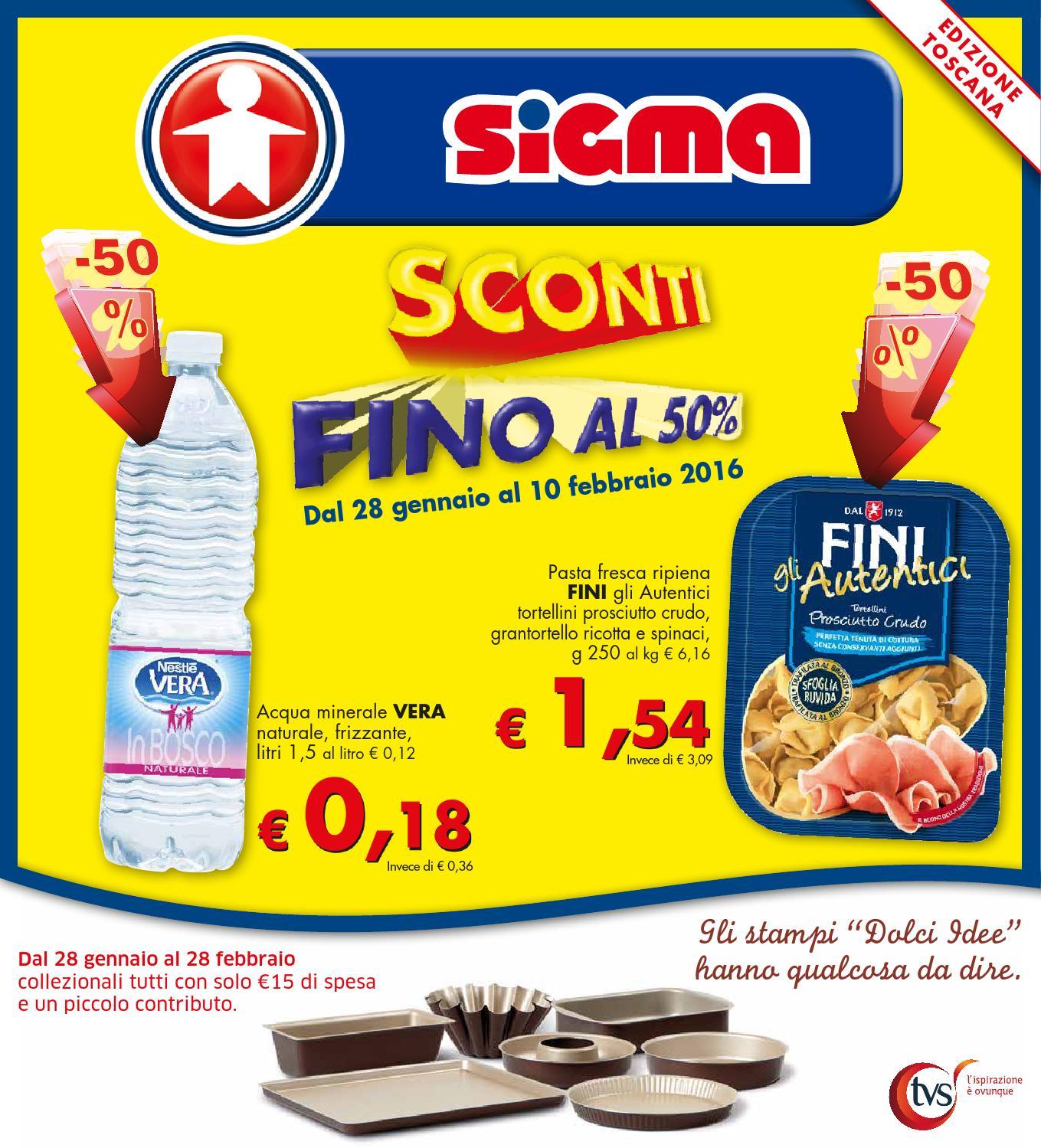 Volantino sigma ed toscana 03 2016 by consorzio europa s c for Volantino acqua e sapone toscana