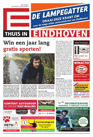 Thuis In Eindhoven Editie Januari 2016 By Thuis In Woensel