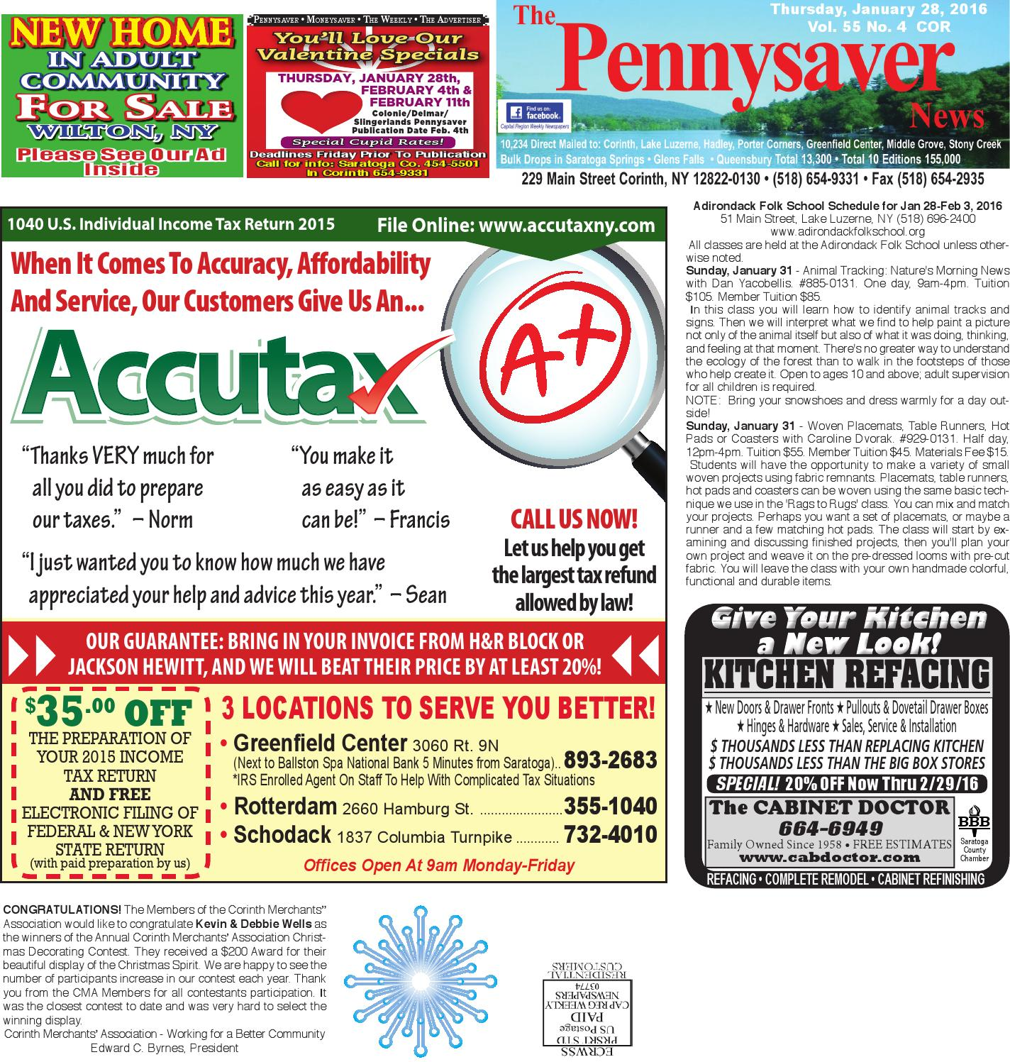 Corinth Pennysaver By Capital Region Weekly Newspapers Issuu - What is a deposit invoice rocco's online store