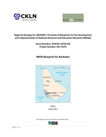 Nren blueprint for barbados by gant publish issuu regional strategy for cribnet provision of blueprints for the development and implementation of national research and education networks nrens grant malvernweather Choice Image