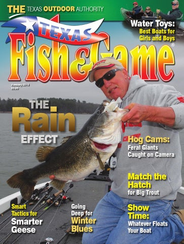 Texas fish game january 2016 by texas fishing and for Texas fish and game