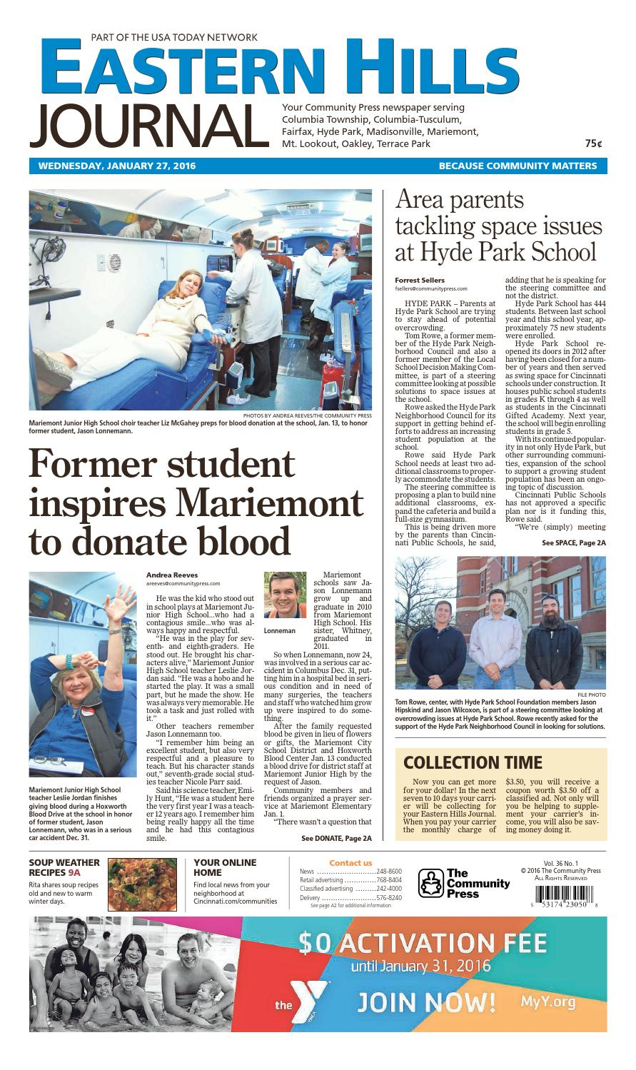 eastern hills journal 012716 by enquirer media issuu rh issuu com