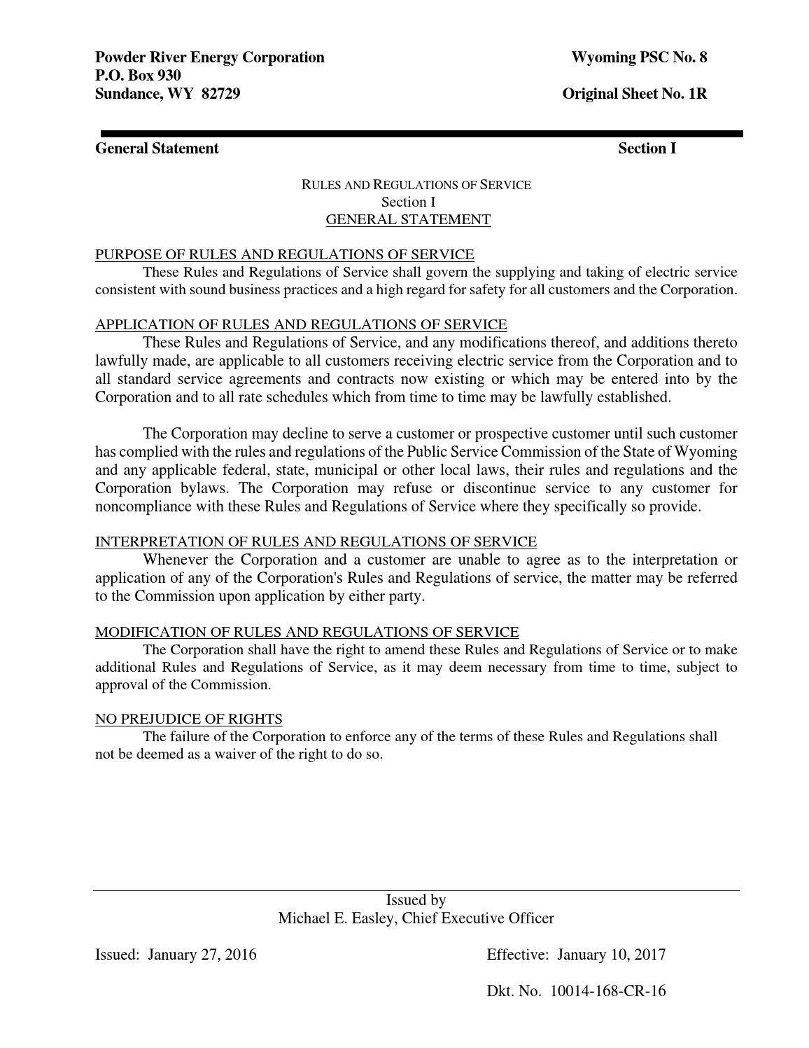 09-rules-regulations by Powder River Energy Corporation - issuu