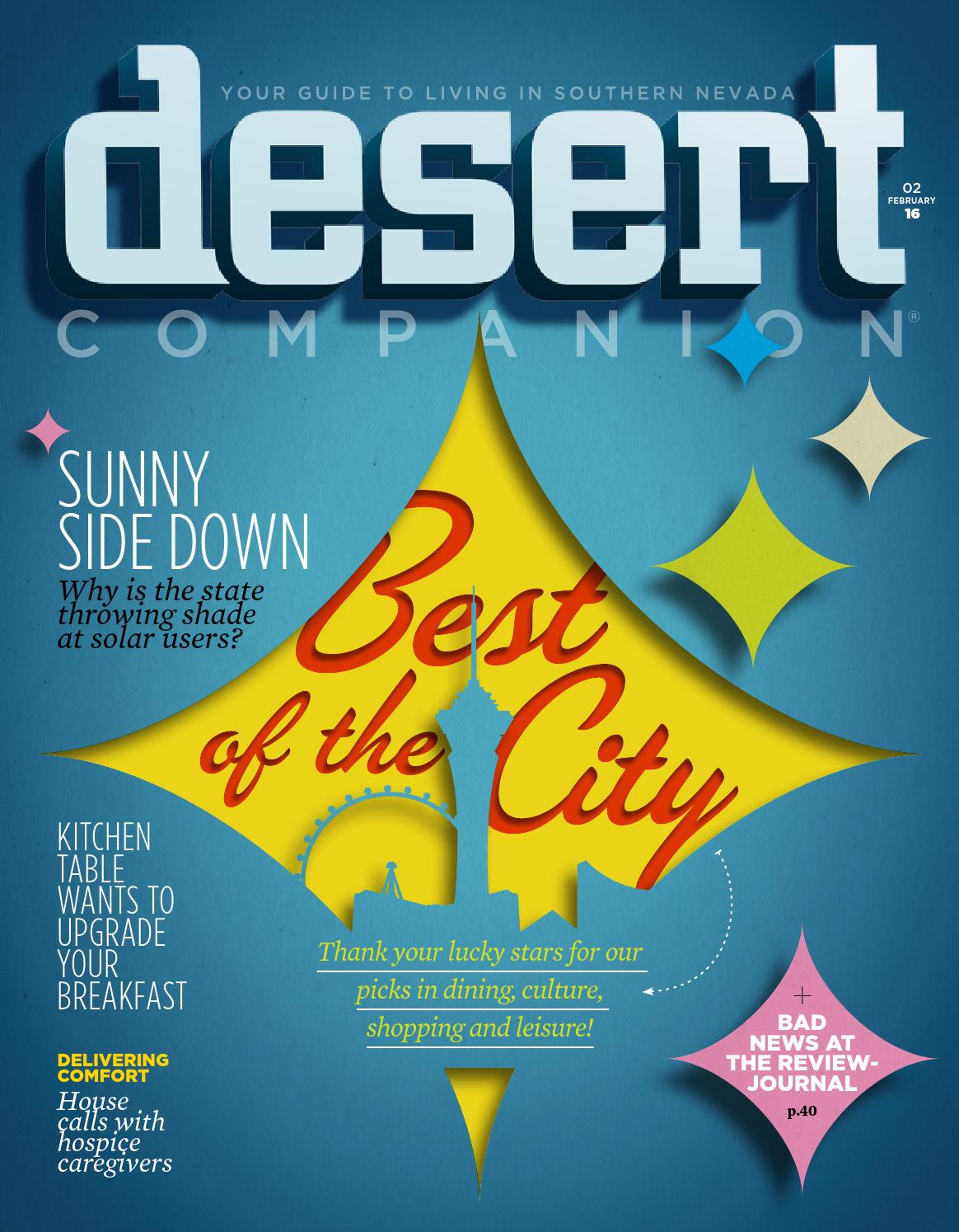Desert Companion - February 2016 by Nevada Public Radio - issuu