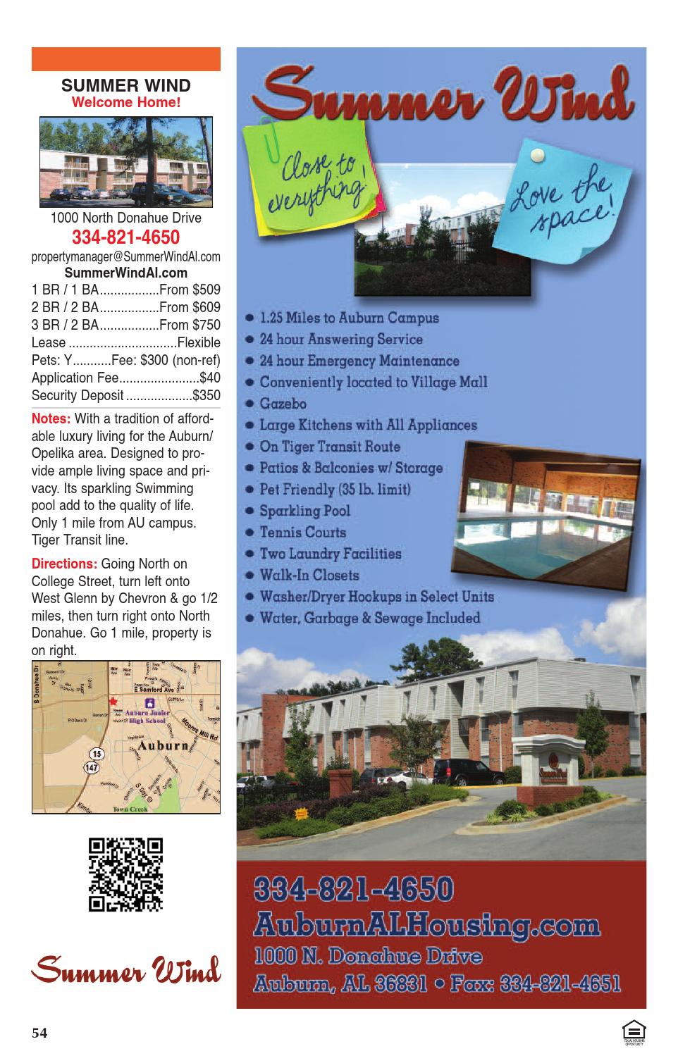 Auburn Opelika Apartment Guide Spring Summer 2016 By Jim Andrews