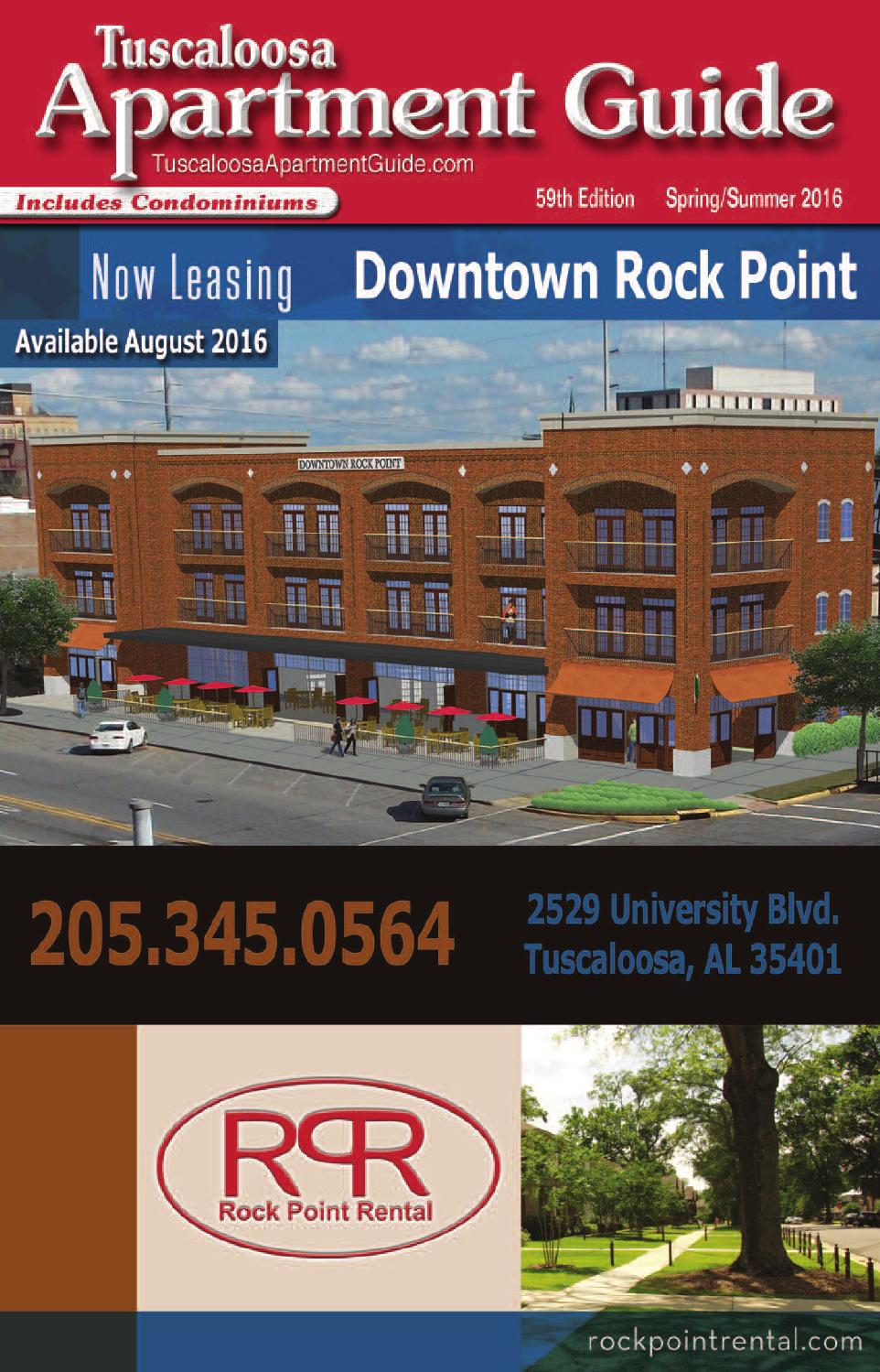 tuscaloosa apartment guide, spring-summer 2016jim andrews - issuu