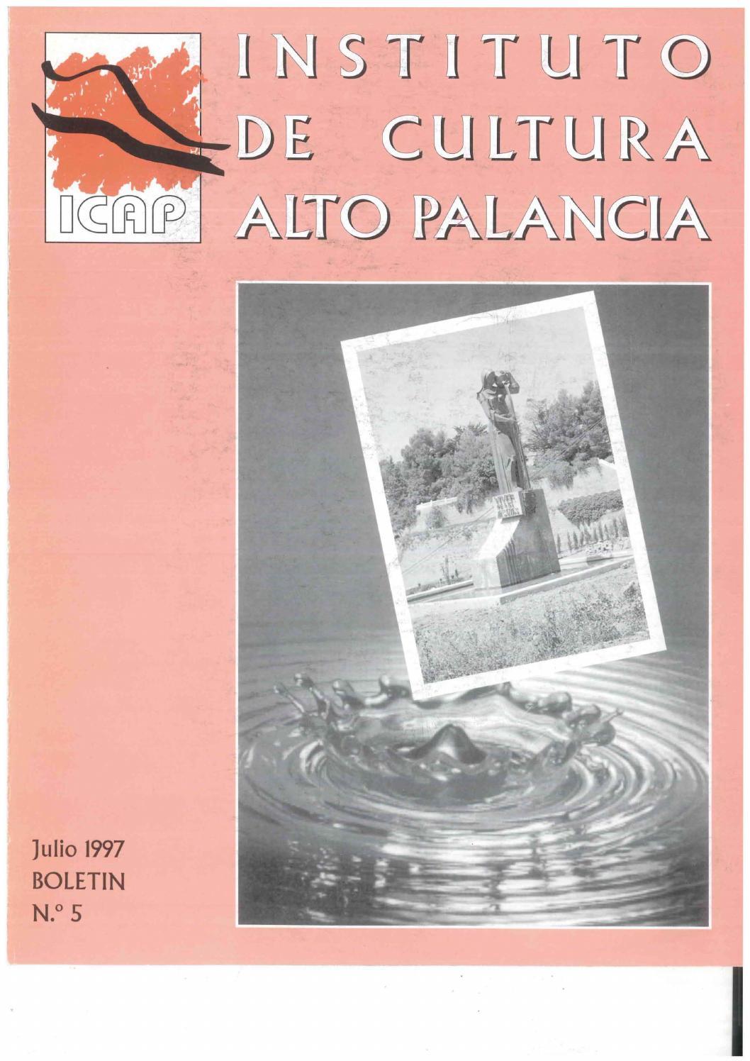 Bolet N 3 Del Instituto De Cultura Del Alto Palancia Julio 1996  # Muebles Tina Calamocha