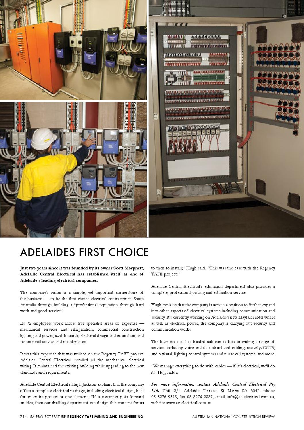 Australian National Construction Review By Trade Media Group Ptd Ltd With An Understanding Of This First Requirement Electric Issuu