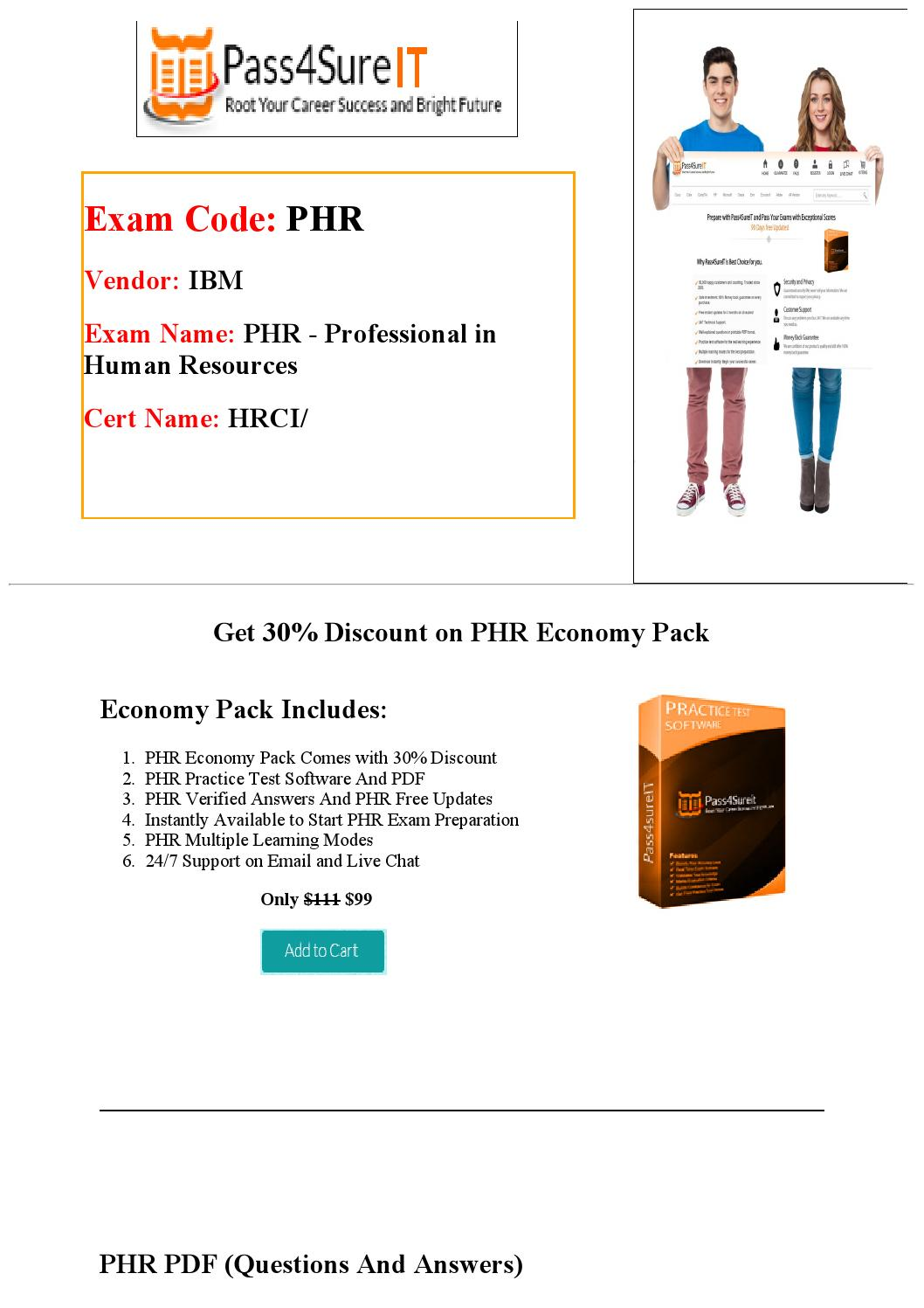 Pass4sure phr practice test by william issuu 1betcityfo Image collections
