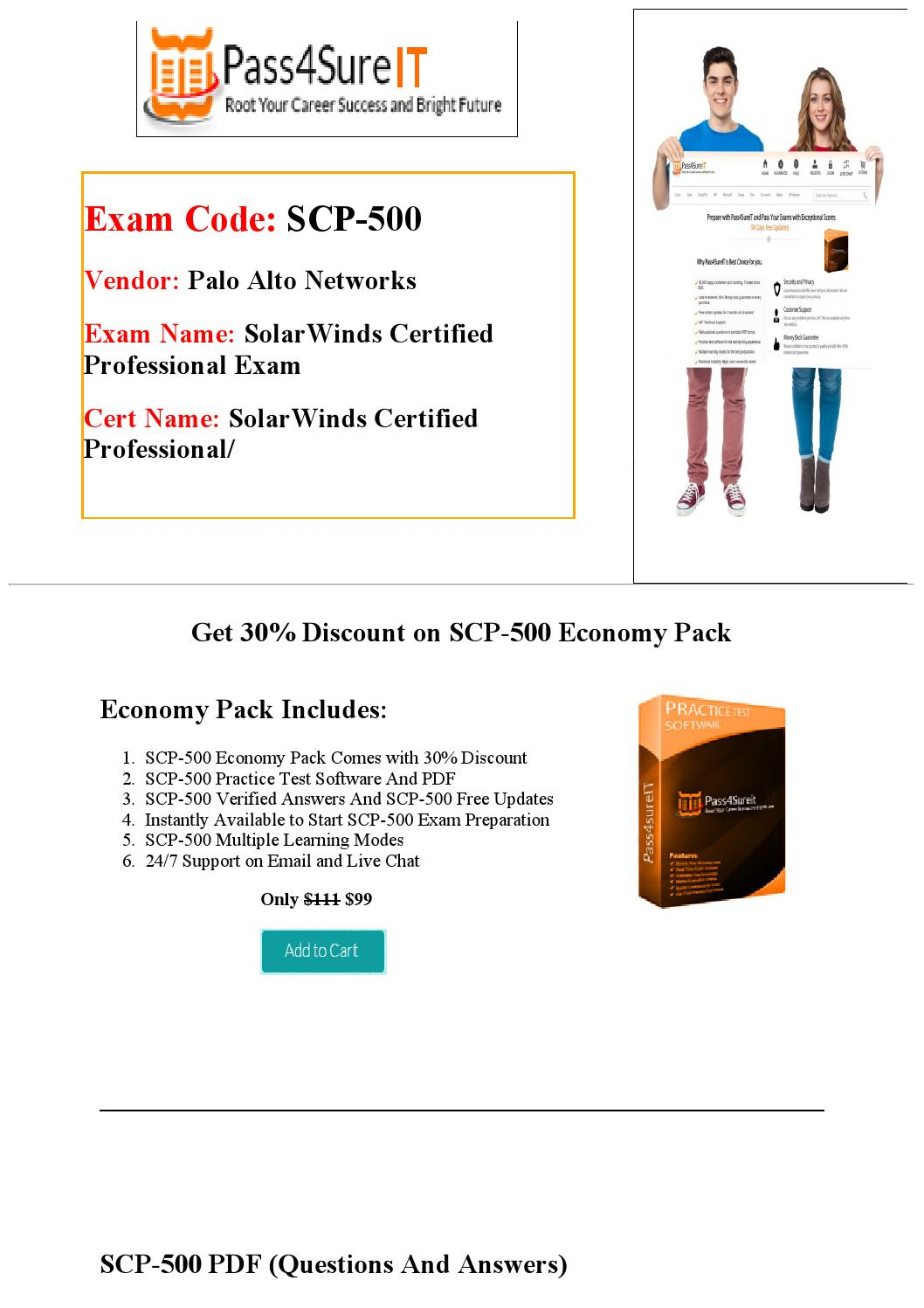 Pass4sure Scp 500 Practice Test By William Issuu