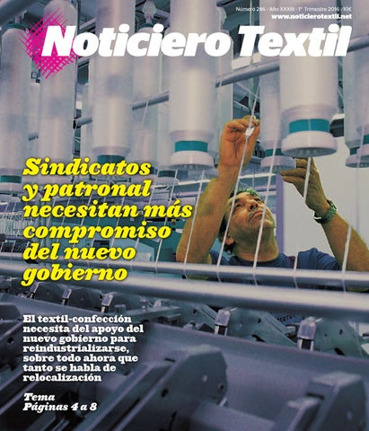 Noticiero Textil by Astoria Ediciones Issuu