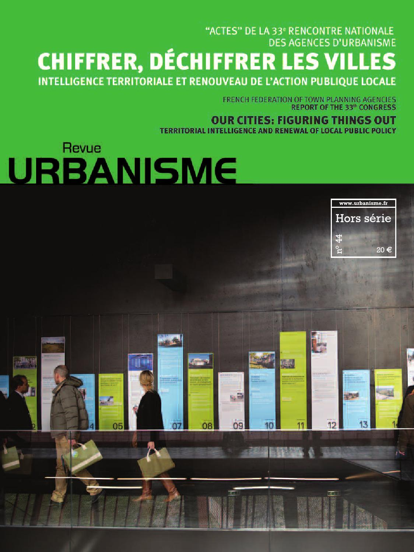 rencontres agences d urbanisme