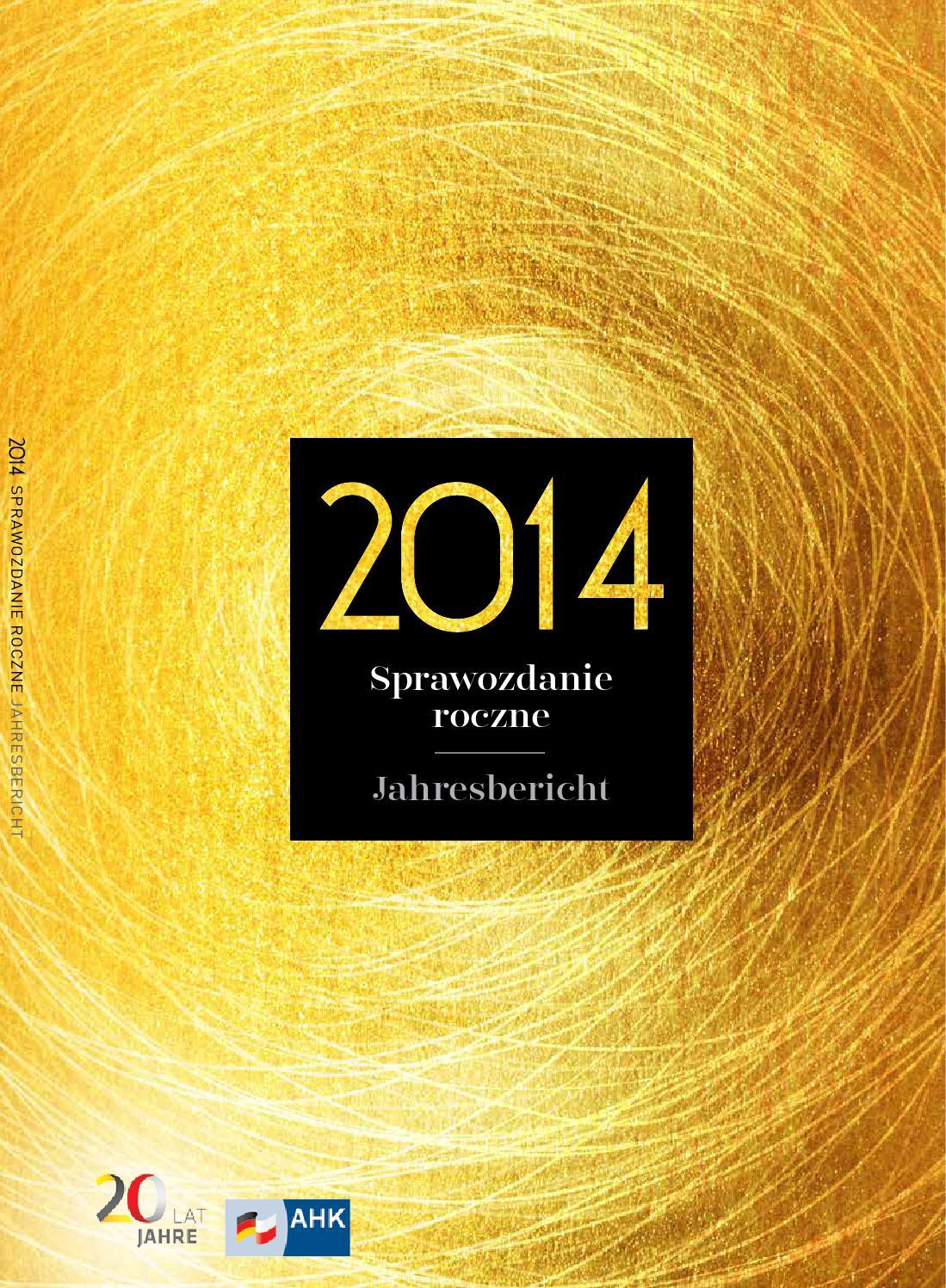 Ahk Raport 2014 By Pola Design Issuu