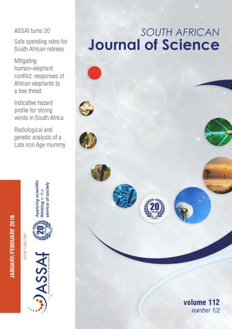 South african journal of science volume 112 issue 12 by south assaf turns 20 safe spending rates for south african retirees fandeluxe Choice Image