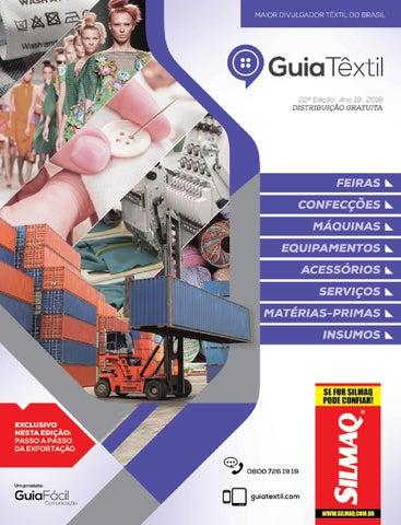 0a1161dd1 Guiatêxtil - 22 edição by Guia Têxtil - issuu