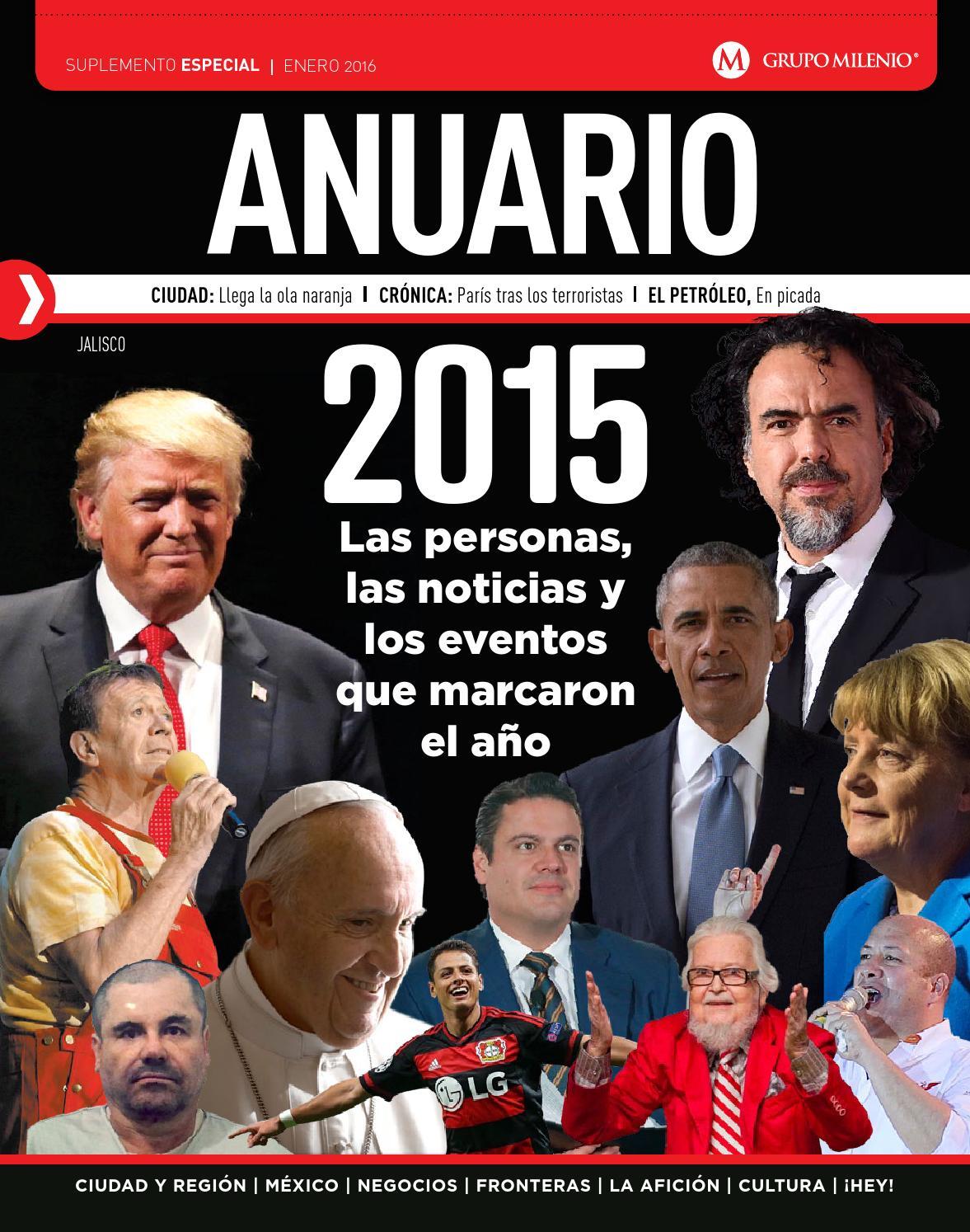 Anuario 2015 jalisco by Milenio Jalisco - issuu