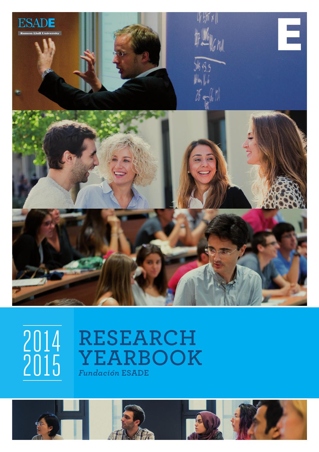 Research yearbook 2014 2015 by ESADE - issuu 2c7d7eff46