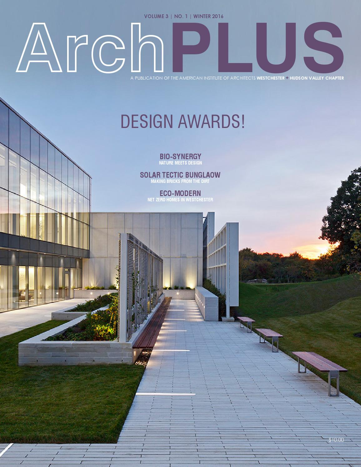 Archplus Winter 2016 Vol 3 No 1 By American Institute Of