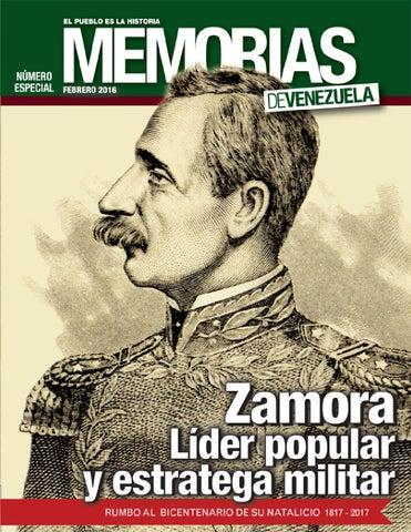 Memorias Nº 11 Zamora Lider Popular y Estratega Militar by Fundación ...
