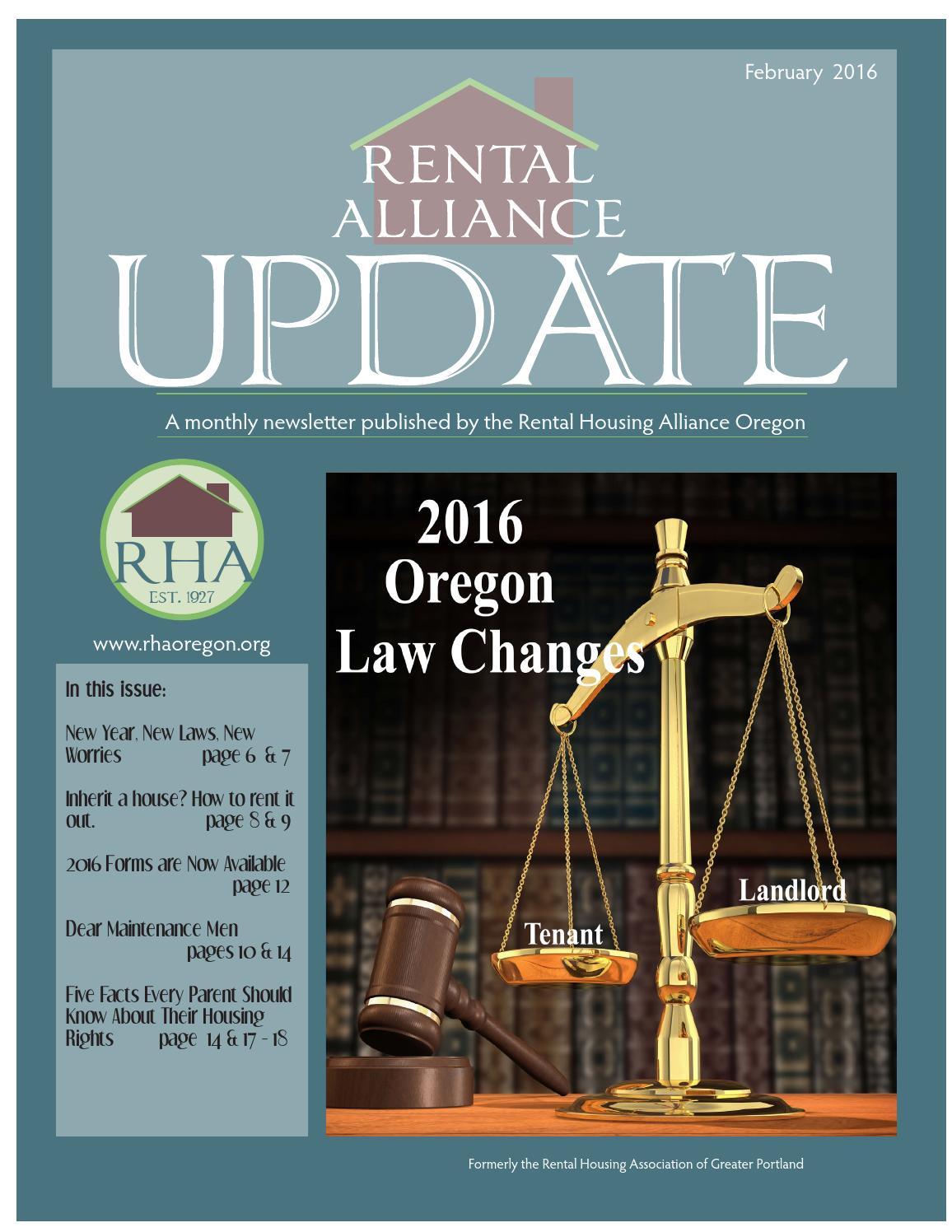 FEBRUARY 2016 RHA UPDATE NEWSLETTER by Cari Pierce - issuu